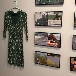 Boden | Green Stretchy Dress